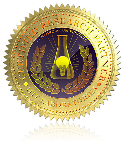 certified research partner seal 400
